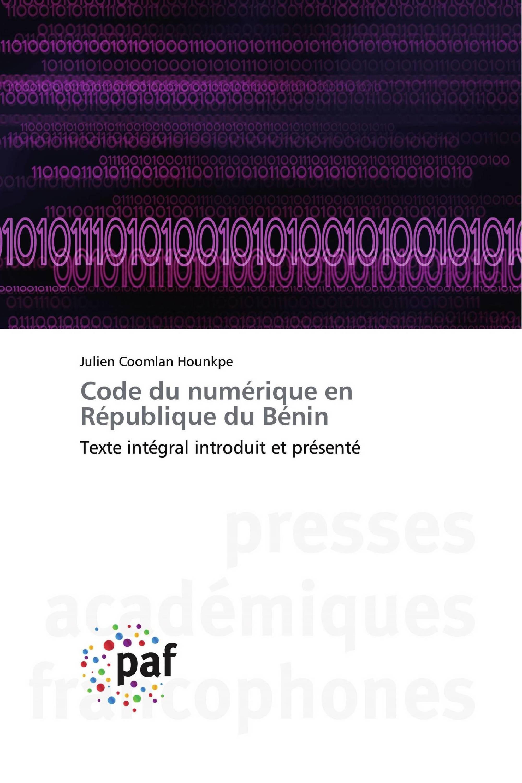 Code du numérique en République du Bénin