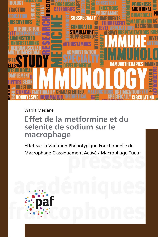 Effet de la metformine et du selenite de sodium sur le macrophage