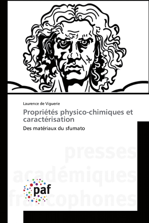 Propriétés physico-chimiques et caractérisation