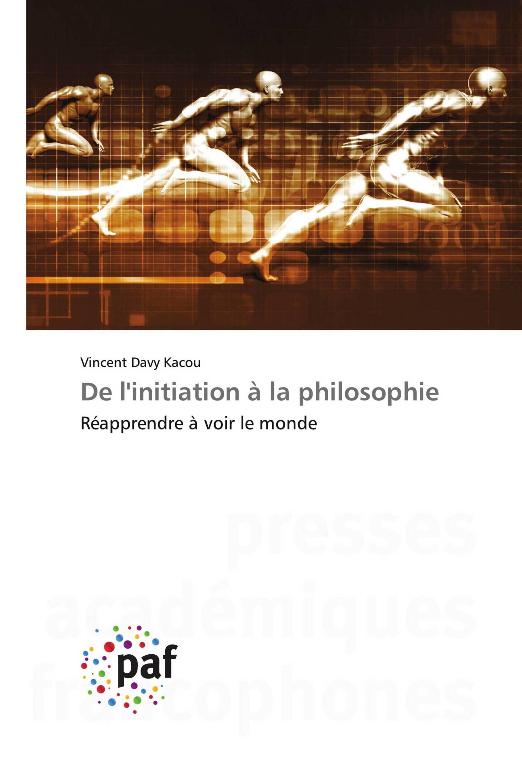 De l'initiation à la philosophie