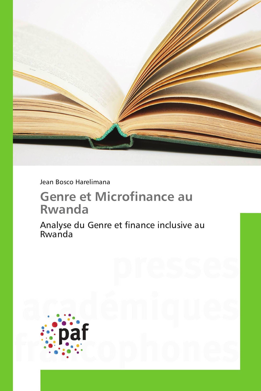 Genre et Microfinance au Rwanda