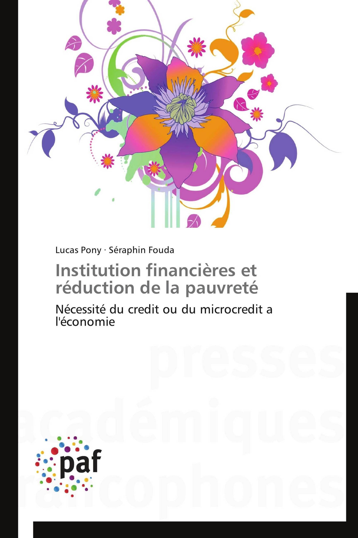 Institution financières et réduction de la pauvreté