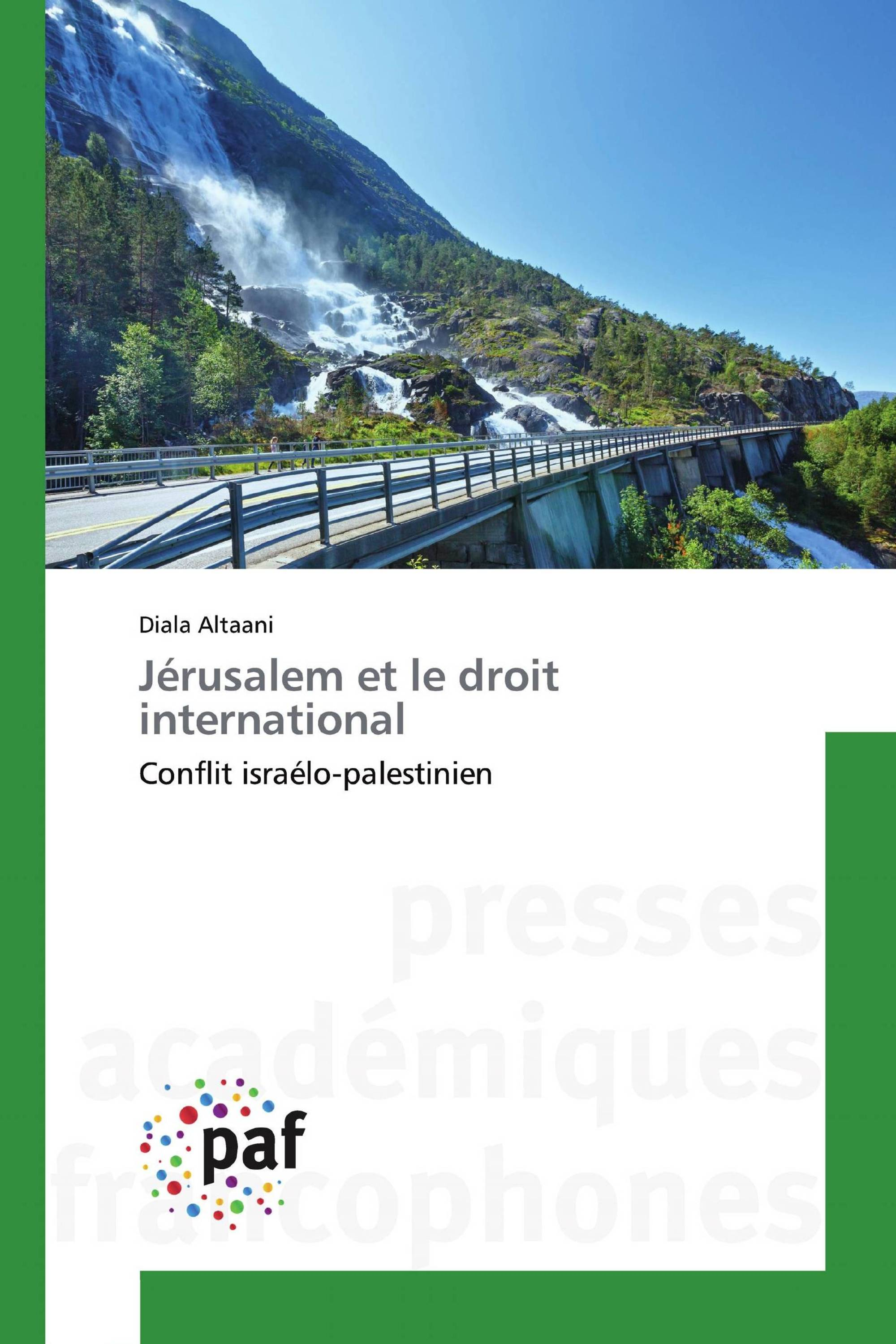 Jérusalem et le droit international