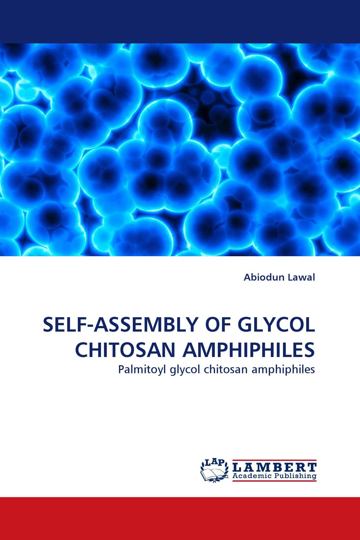 SELF-ASSEMBLY OF GLYCOL CHITOSAN AMPHIPHILES