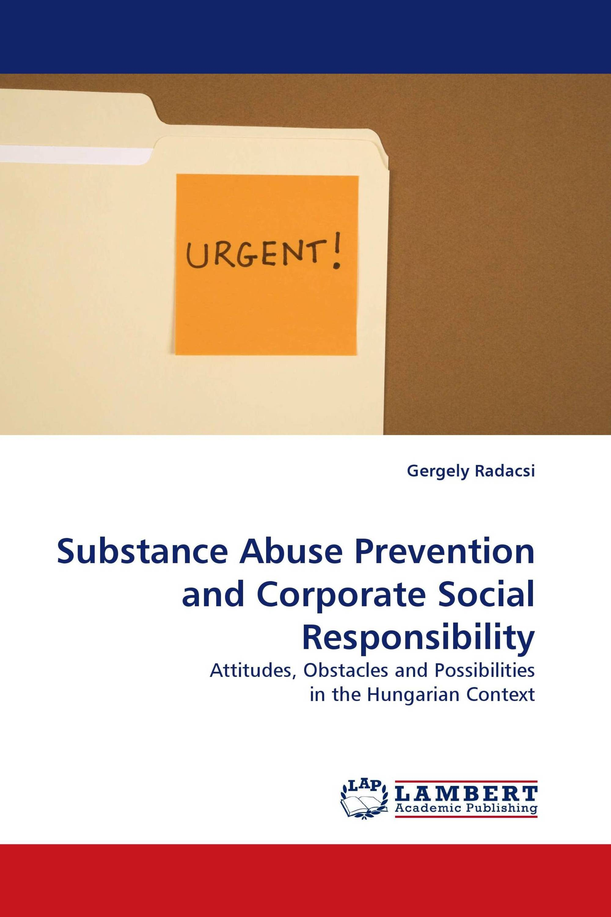 Substance Abuse Prevention and Corporate Social Responsibility