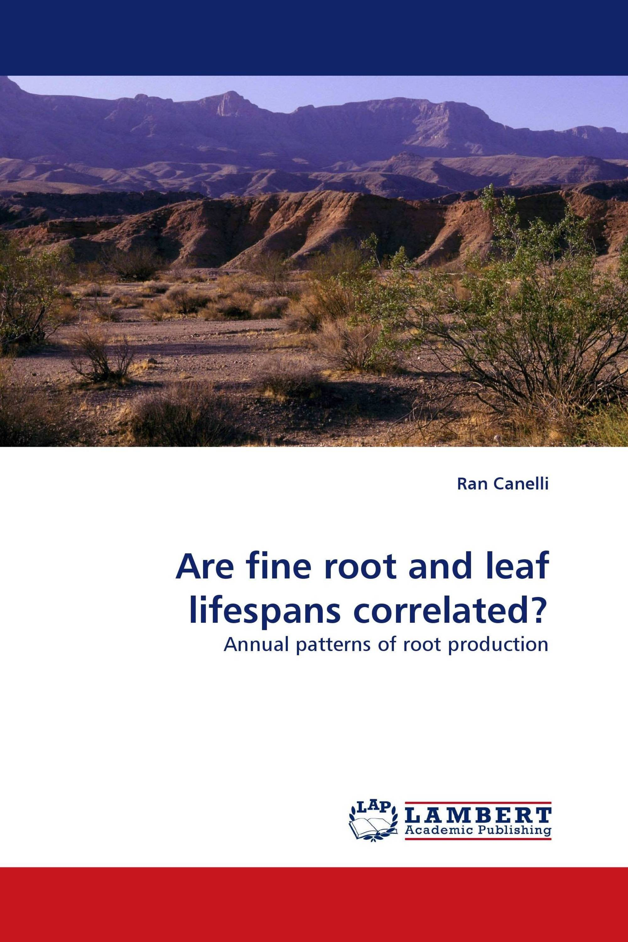 Are fine root and leaf lifespans correlated?