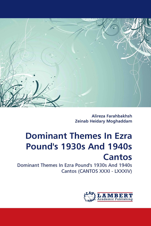 thesis on ezra pound