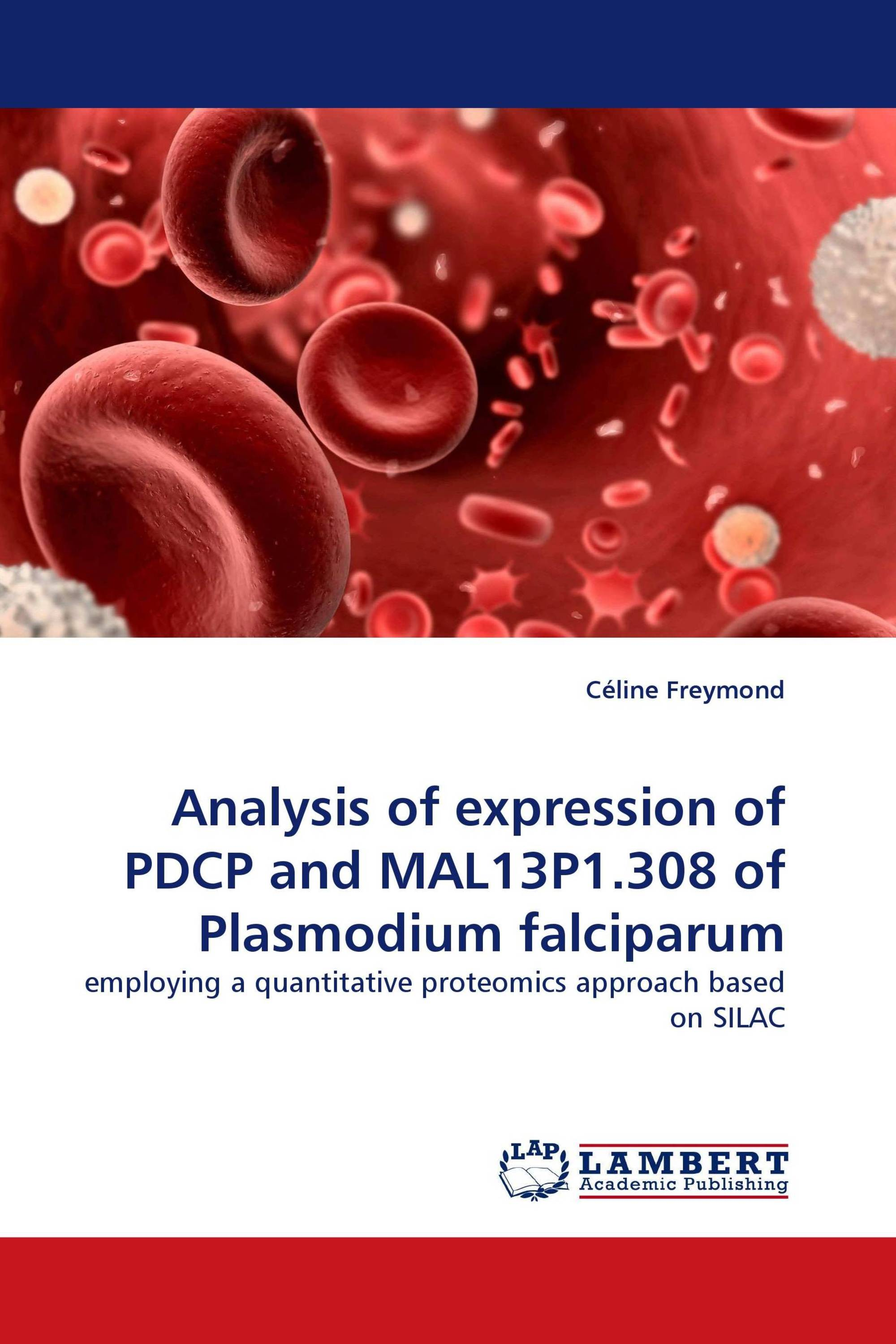 Analysis of expression of PDCP and MAL13P1.308 of Plasmodium falciparum