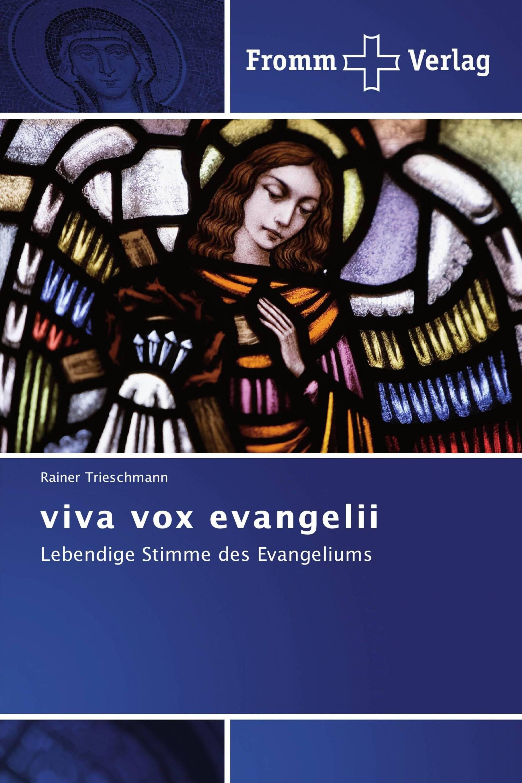 viva vox evangelii