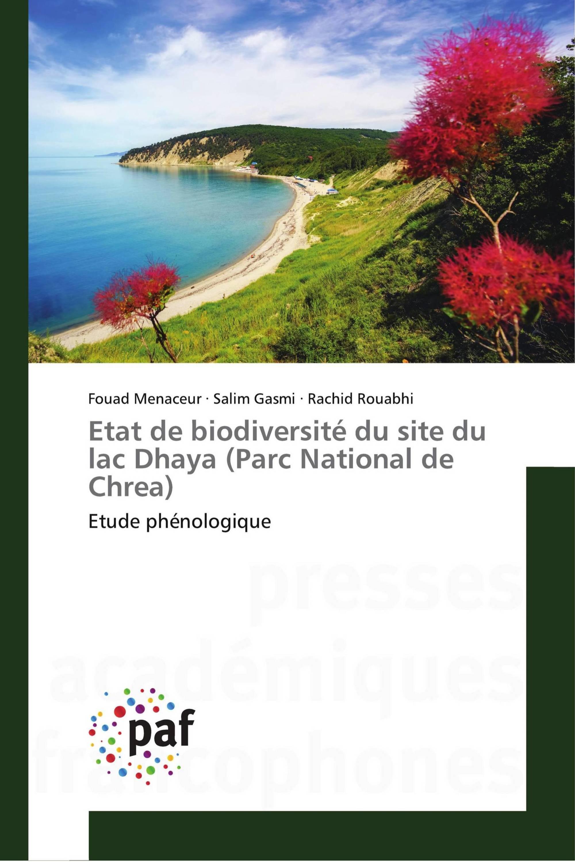 Etat de biodiversité du site du lac Dhaya (Parc National de Chrea)