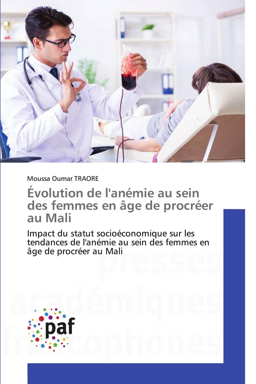 Évolution de l'anémie au sein des femmes en âge de procréer au Mali