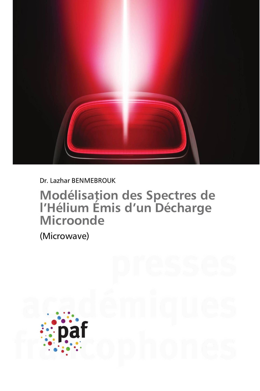 Modélisation des Spectres de l'Hélium Émis d'un Décharge Microonde
