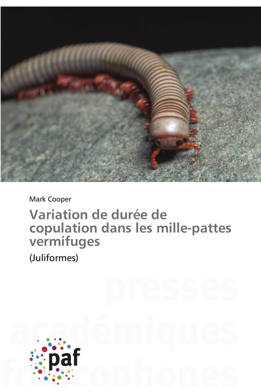 Variation de durée de copulation dans les mille-pattes vermifuges