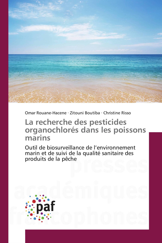 La recherche des pesticides organochlorés dans les poissons marins