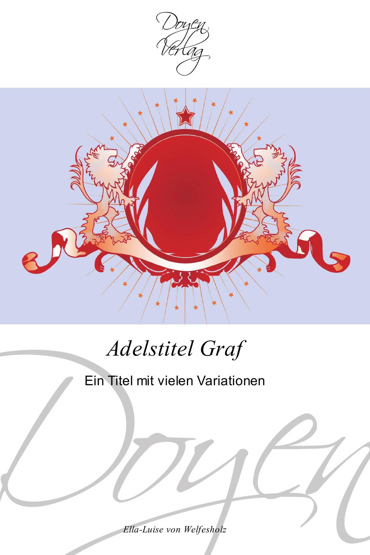 Adelstitel Graf