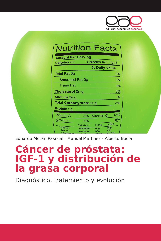 Cáncer de próstata: IGF-1 y distribución de la grasa corporal