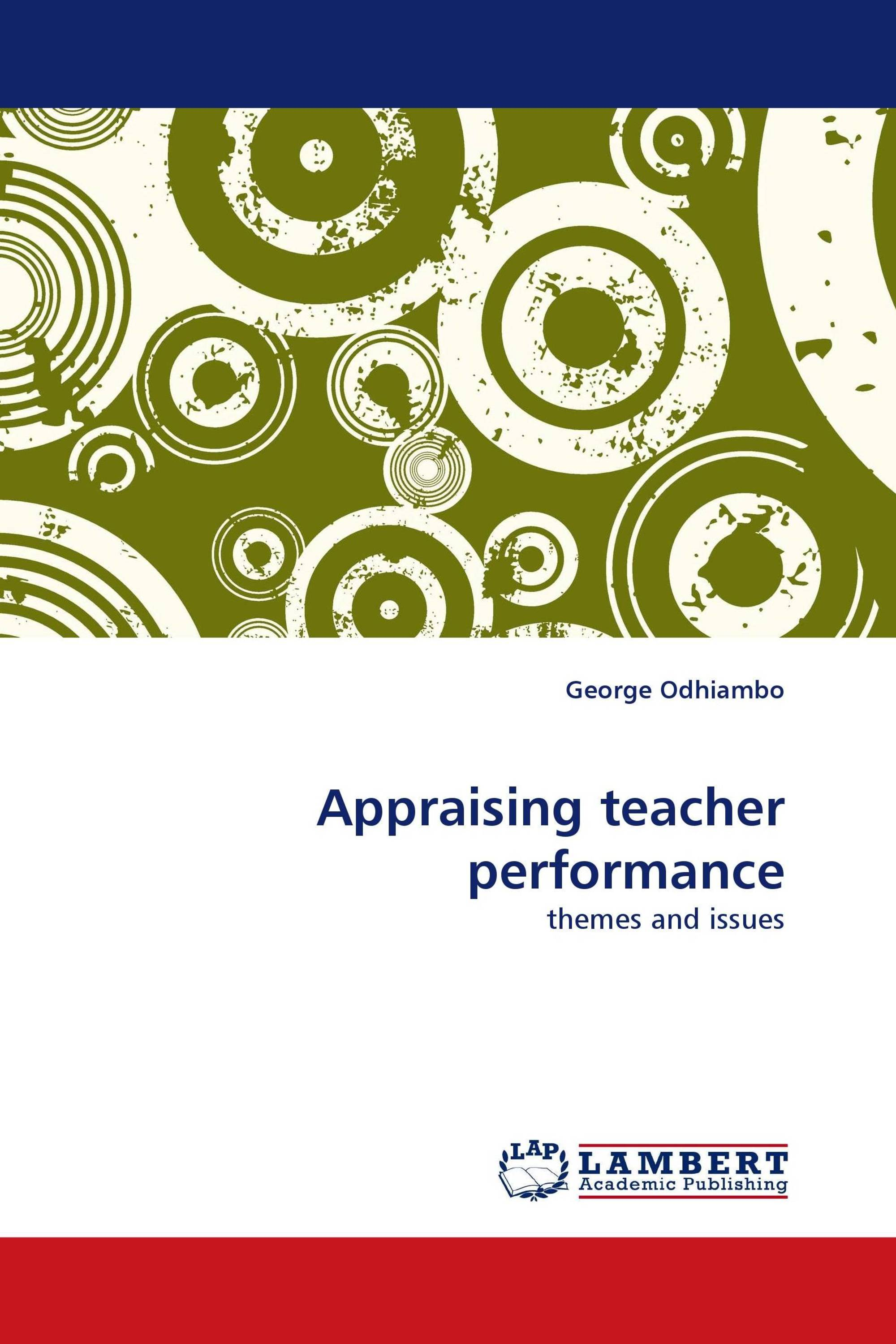 Appraising teacher performance
