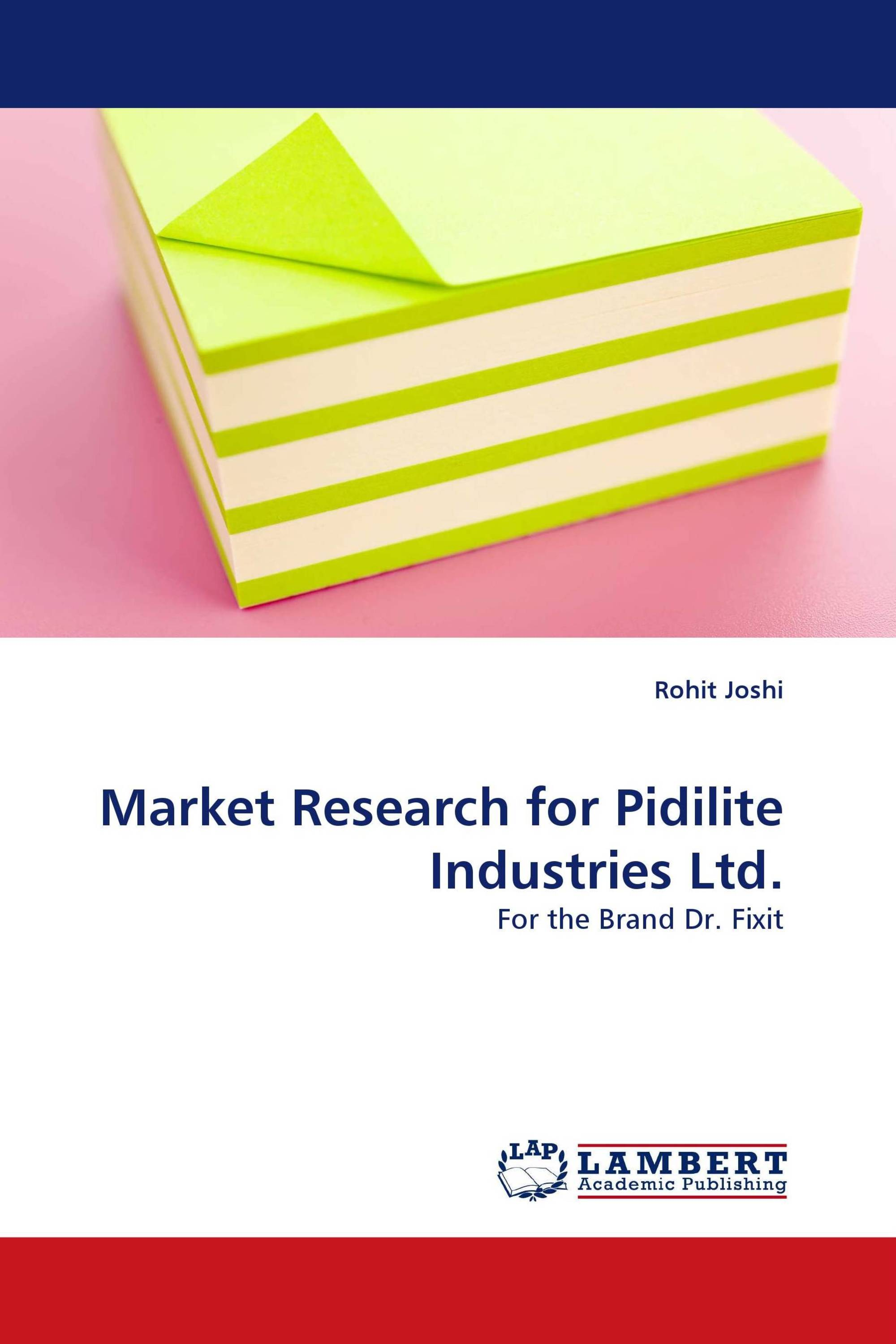 Market Research For Pidilite Industries Ltd