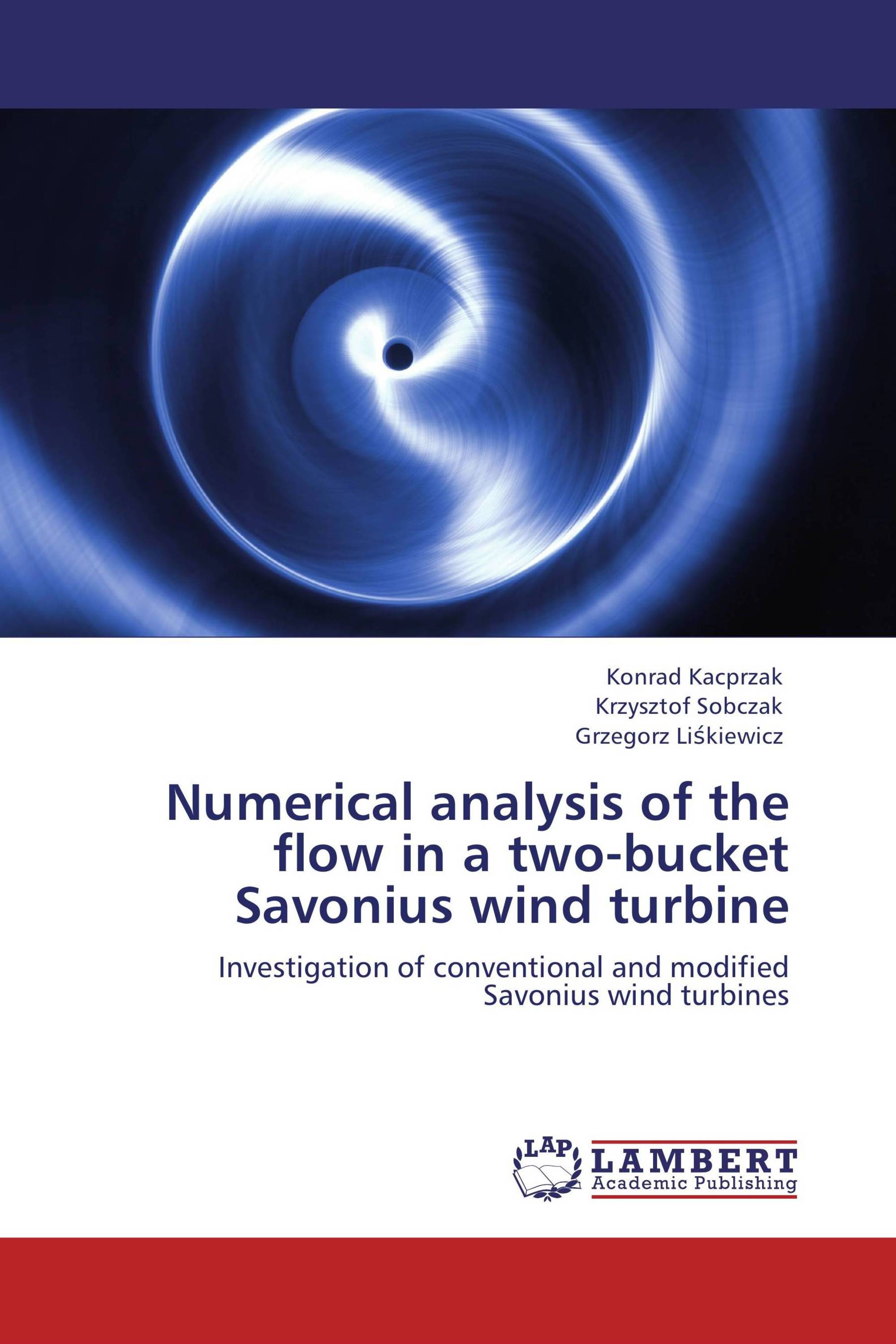 Numerical analysis of the flow in a two-bucket Savonius wind