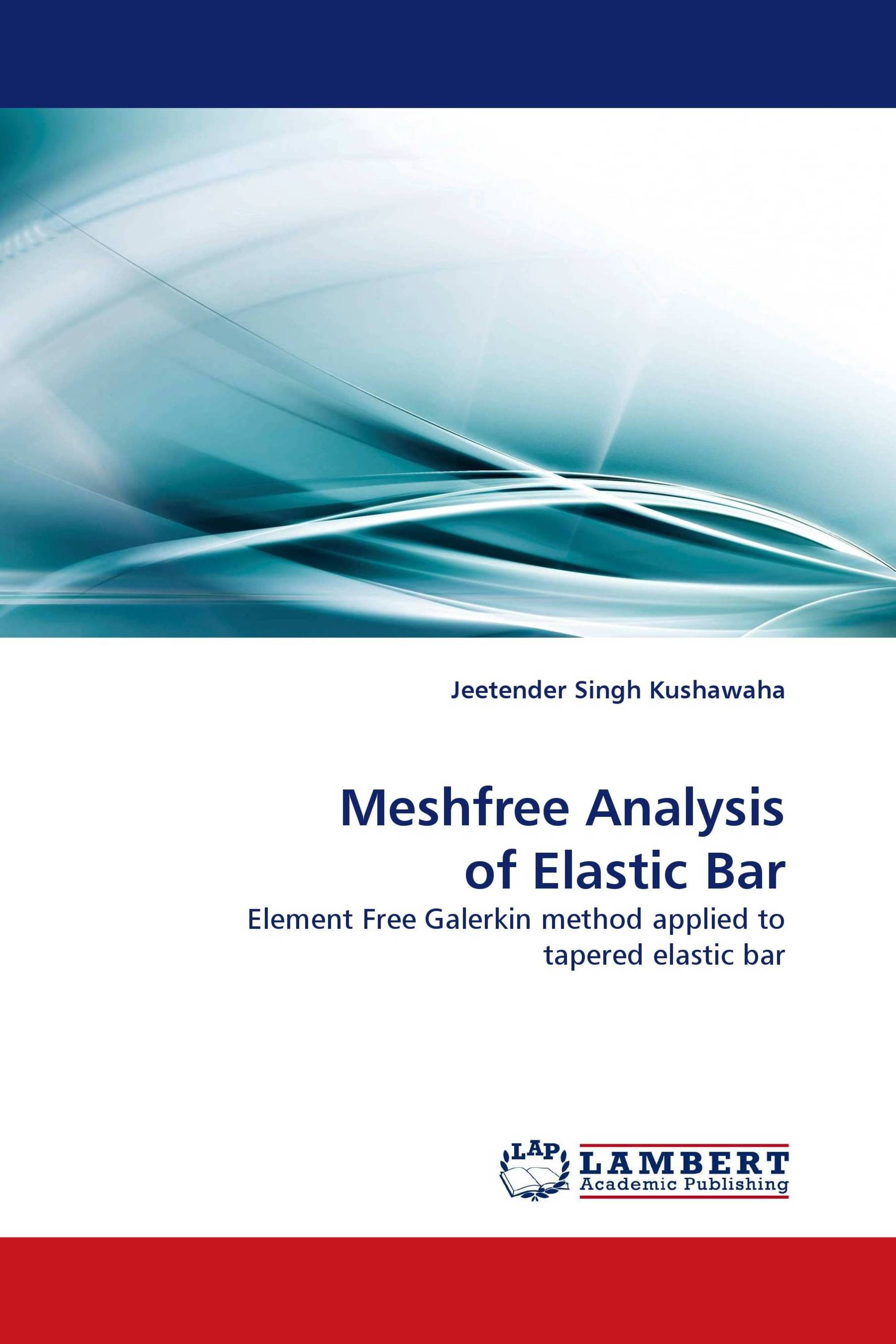 Meshfree Analysis of Elastic Bar
