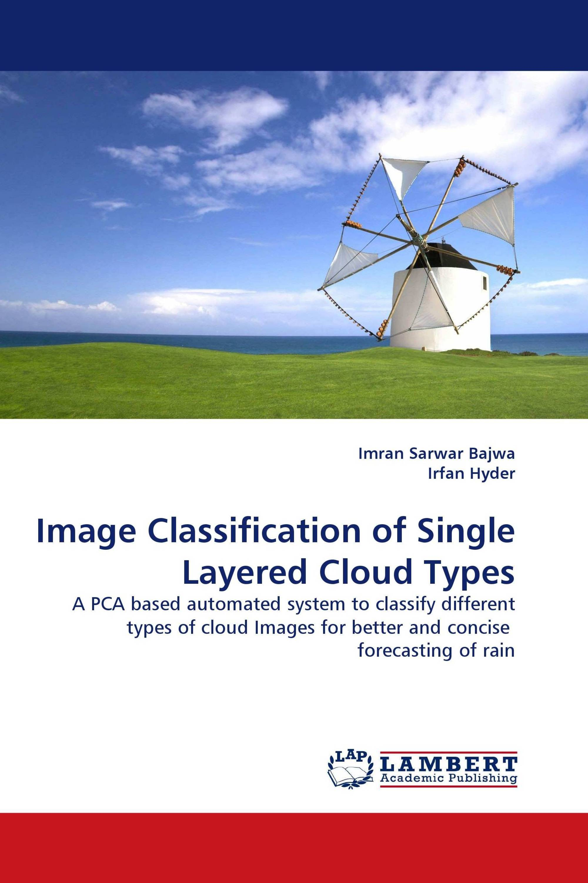 Image Classification of Single Layered Cloud Types