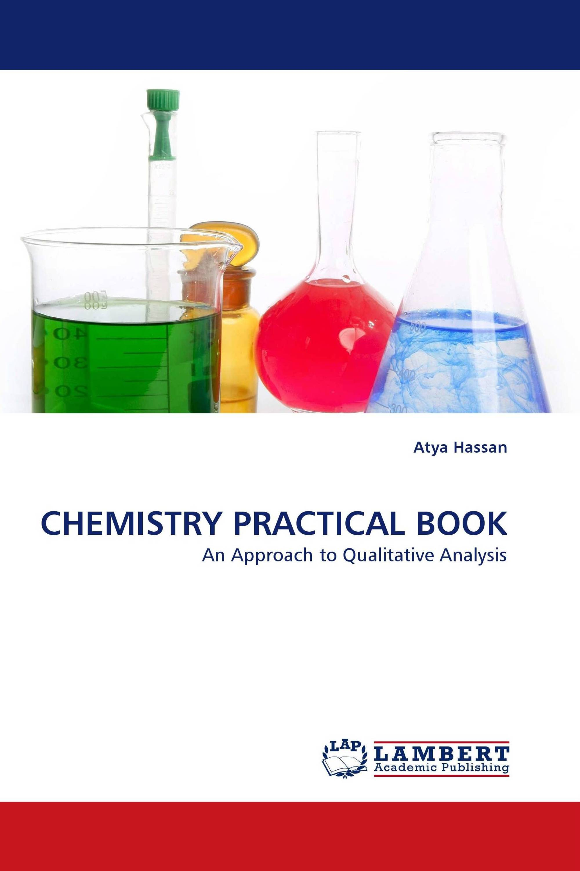 CHEMISTRY PRACTICAL BOOK / 978-3-8443-2831-8 / 9783844328318