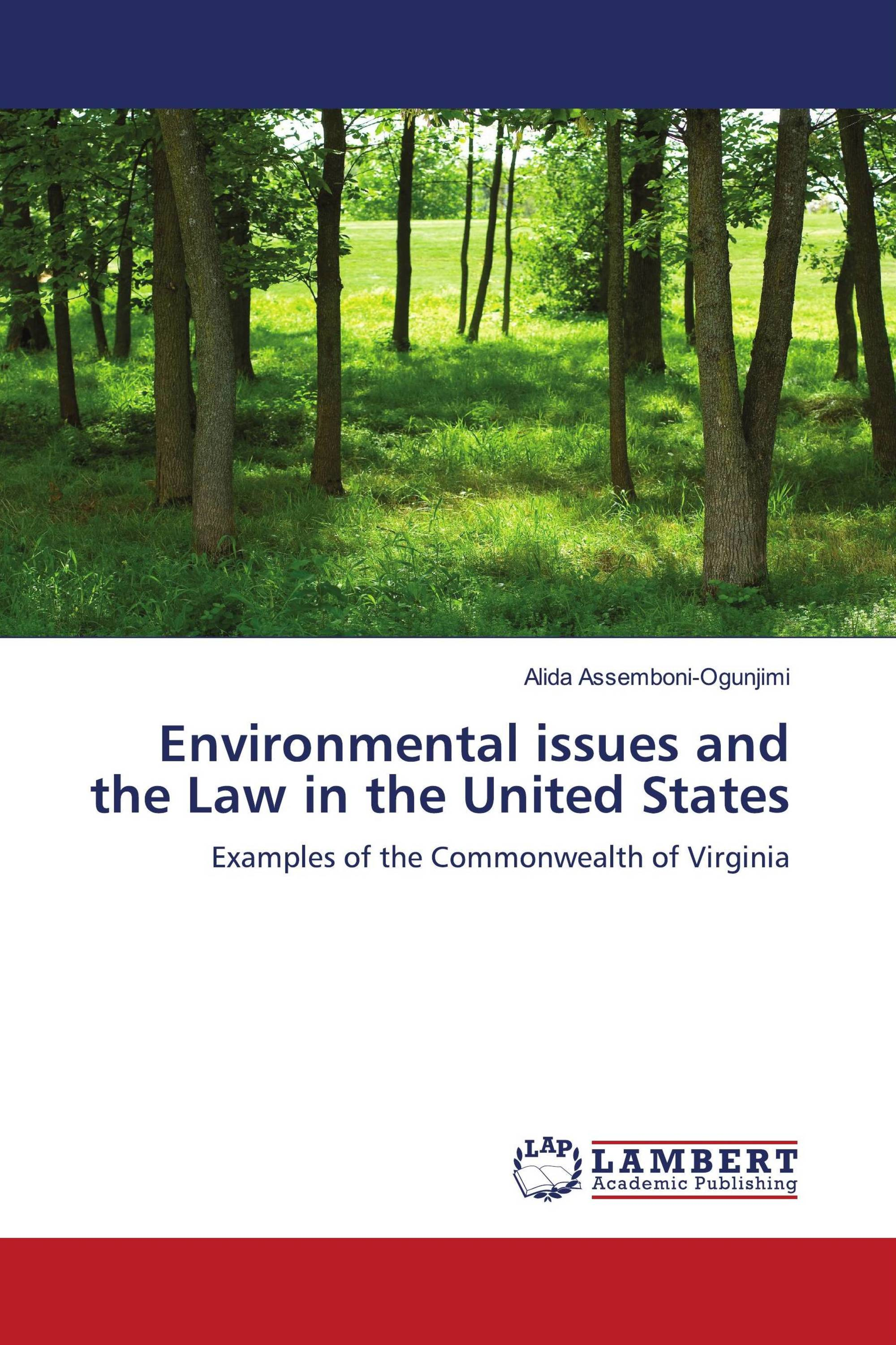 Environmental issues and the Law in the United States / 978