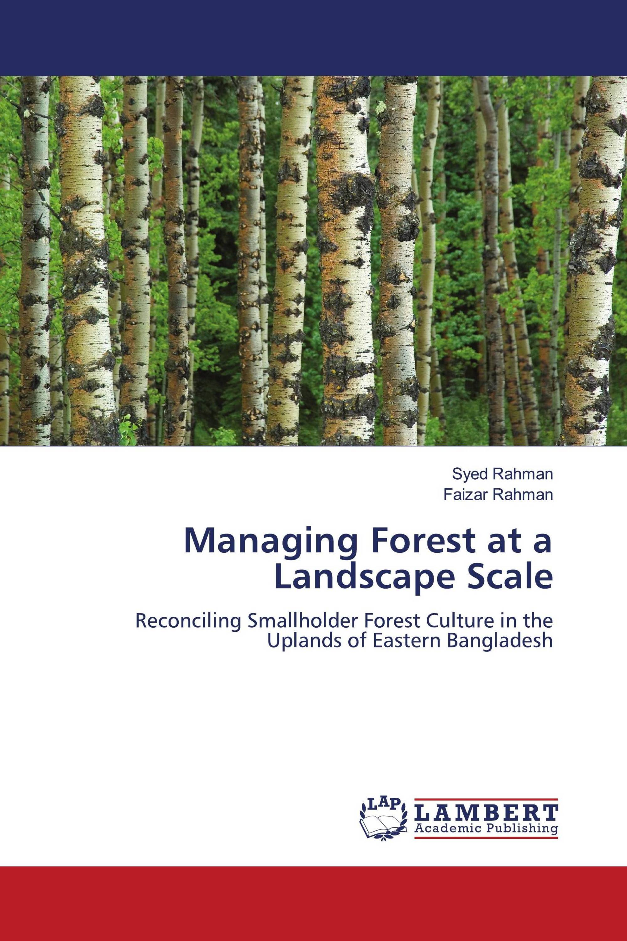Managing Forest at a Landscape Scale