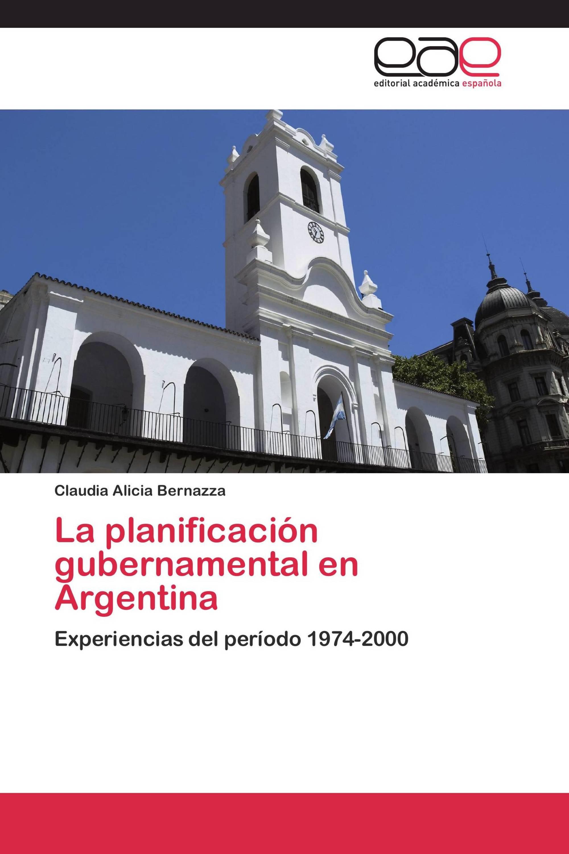 La planificación gubernamental en Argentina