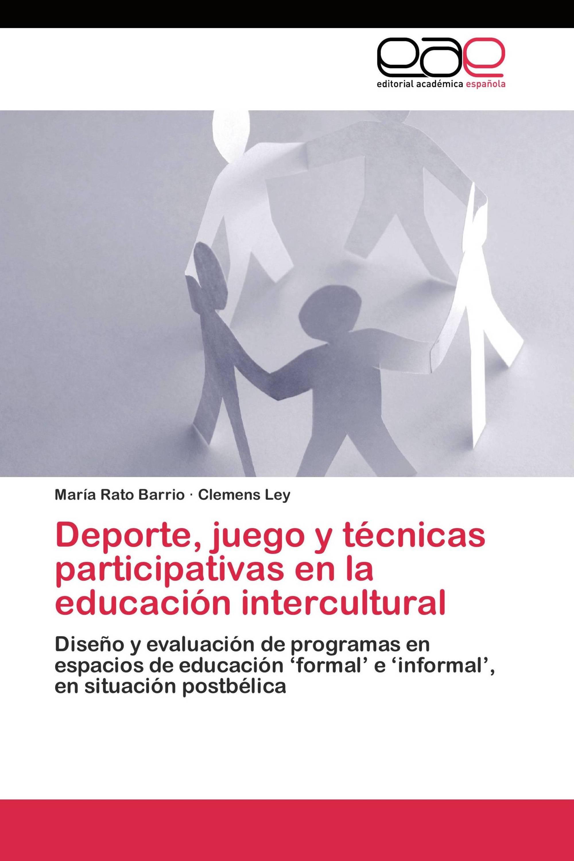 Deporte, juego y técnicas participativas en la educación intercultural