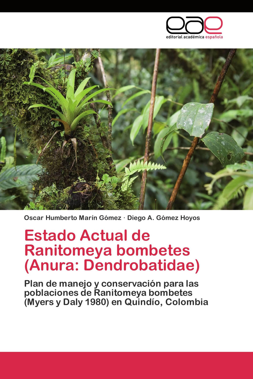 Estado Actual de Ranitomeya bombetes (Anura: Dendrobatidae)