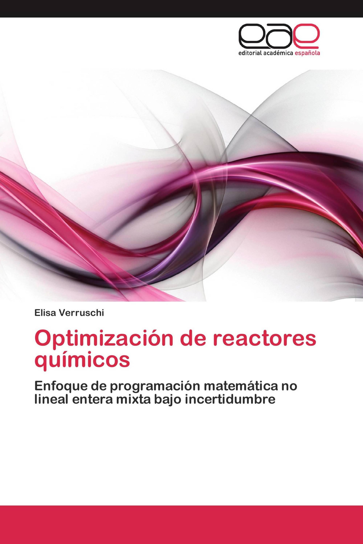 Optimización de reactores químicos
