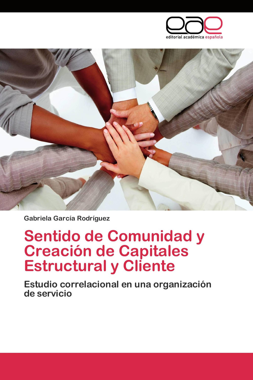 Sentido de Comunidad y Creación de Capitales Estructural y Cliente