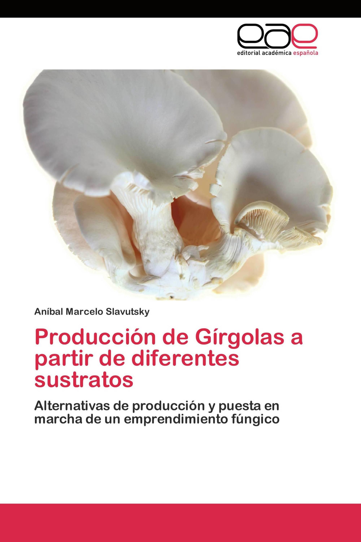 Producción de Gírgolas a partir de diferentes sustratos