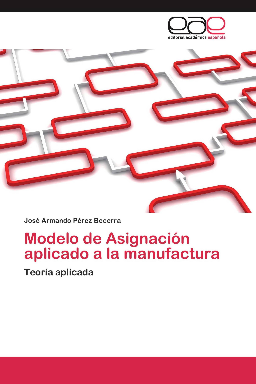 Modelo de Asignación aplicado a la manufactura