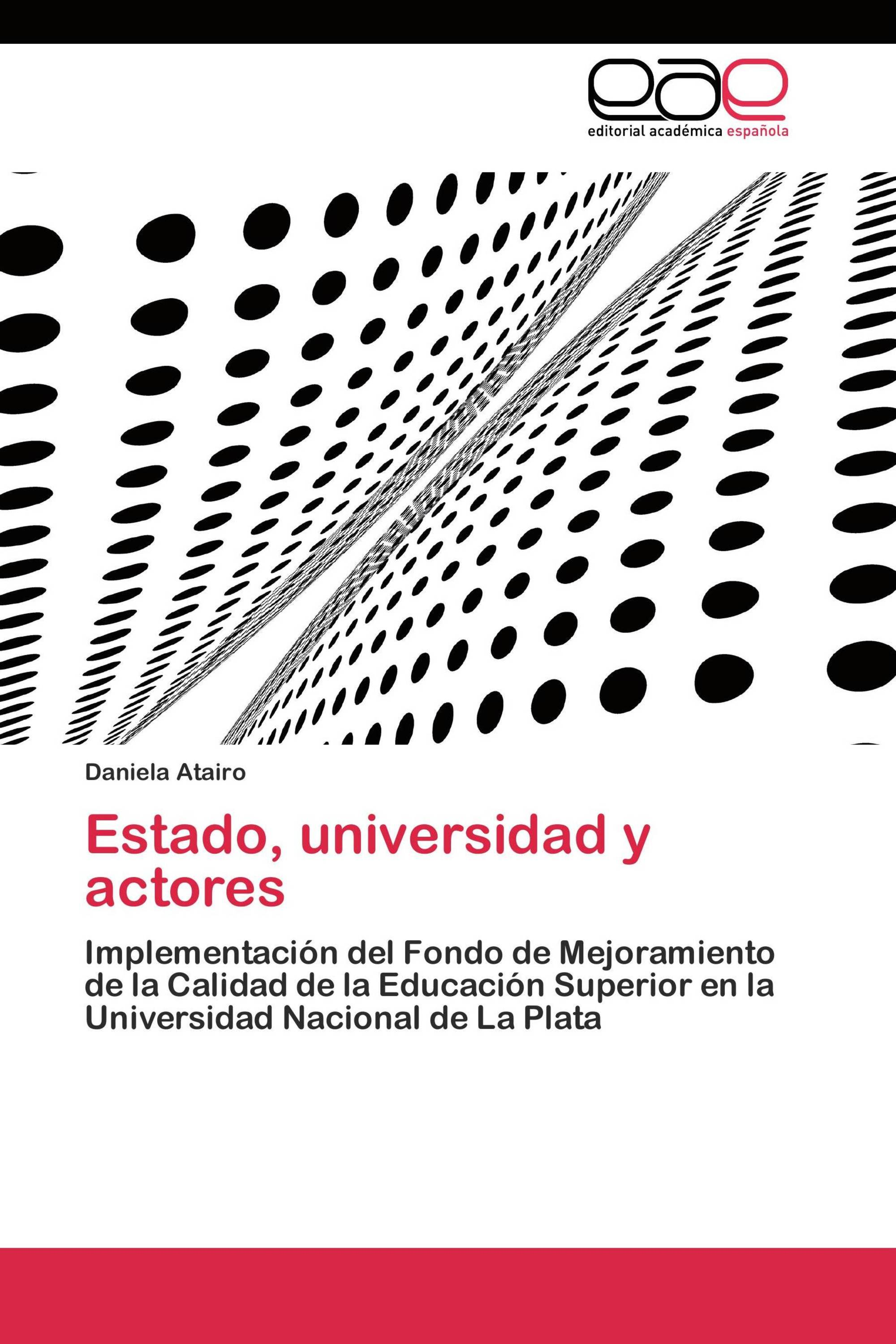Estado, universidad y actores