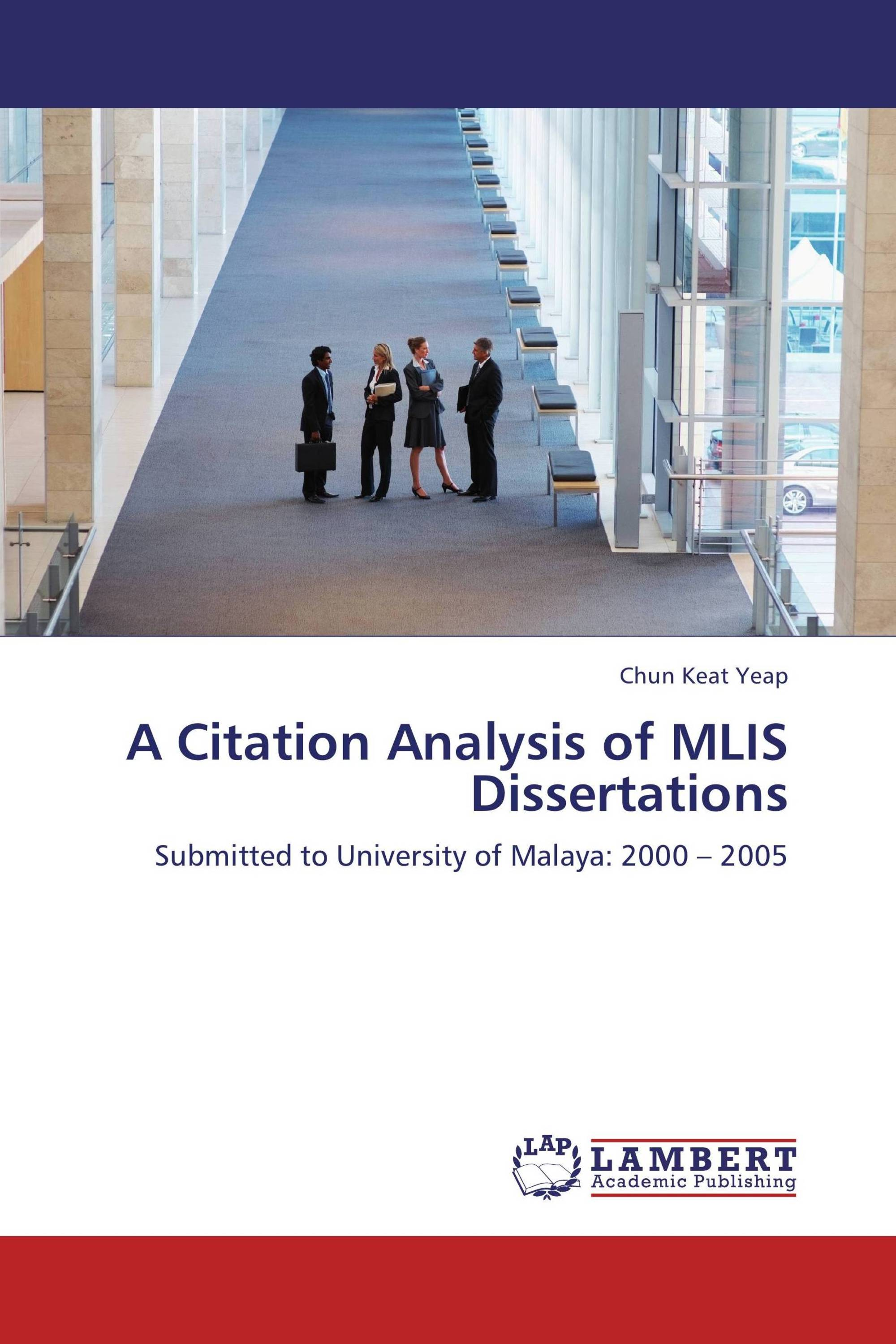 citation analysis dissertation Citation analysis of dissertations submitted to the department of animal science, university of ibadan, nigeria annals of library and information science, 56.