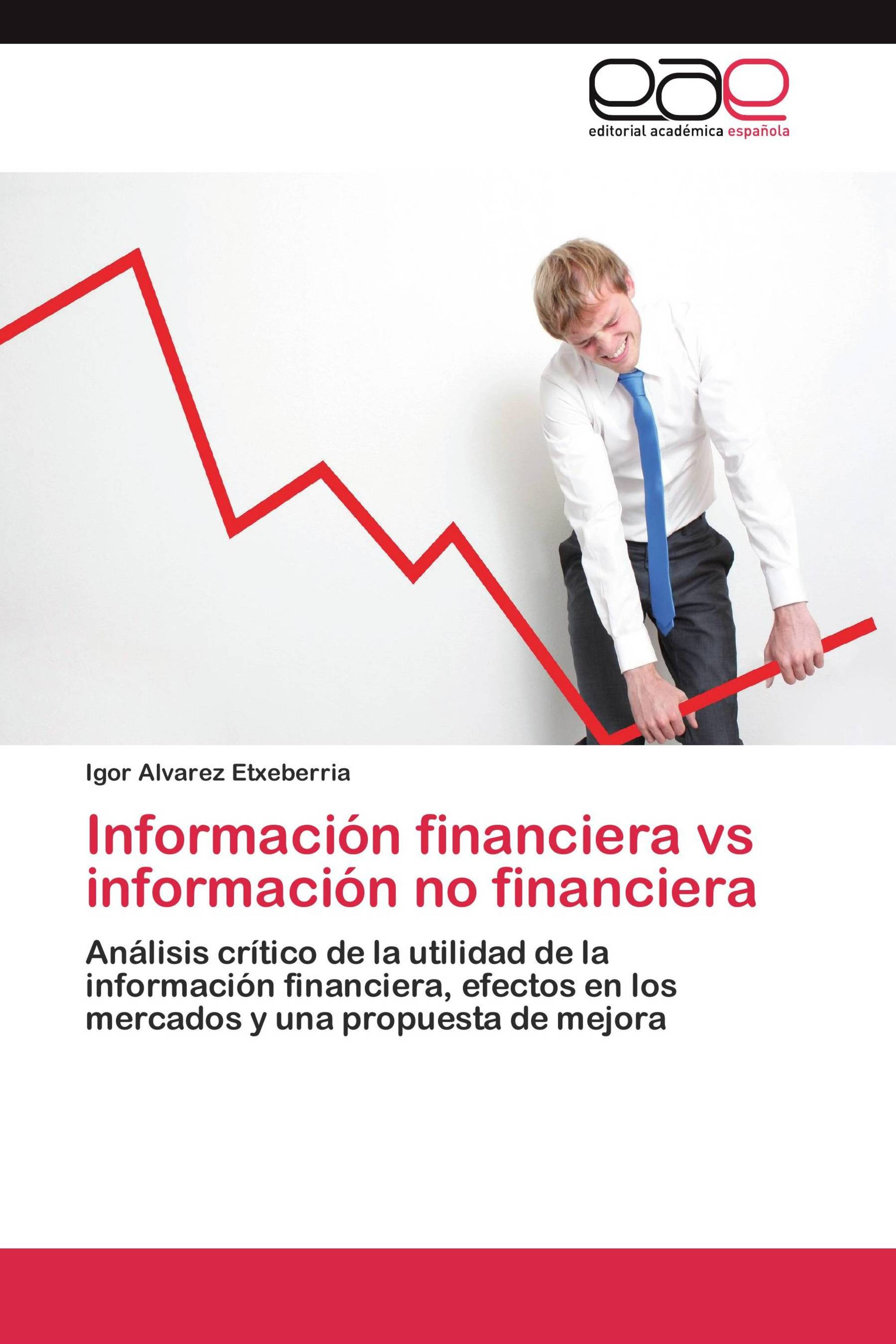 Información financiera vs información no financiera