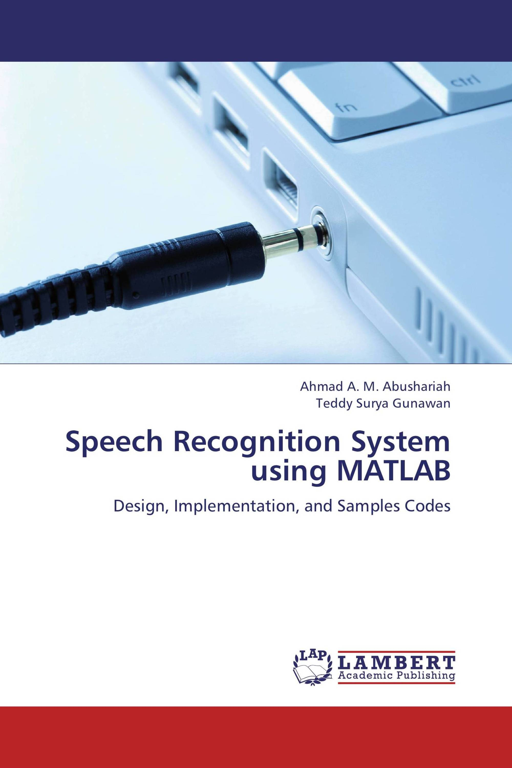 speech recognition project using matlab code examples