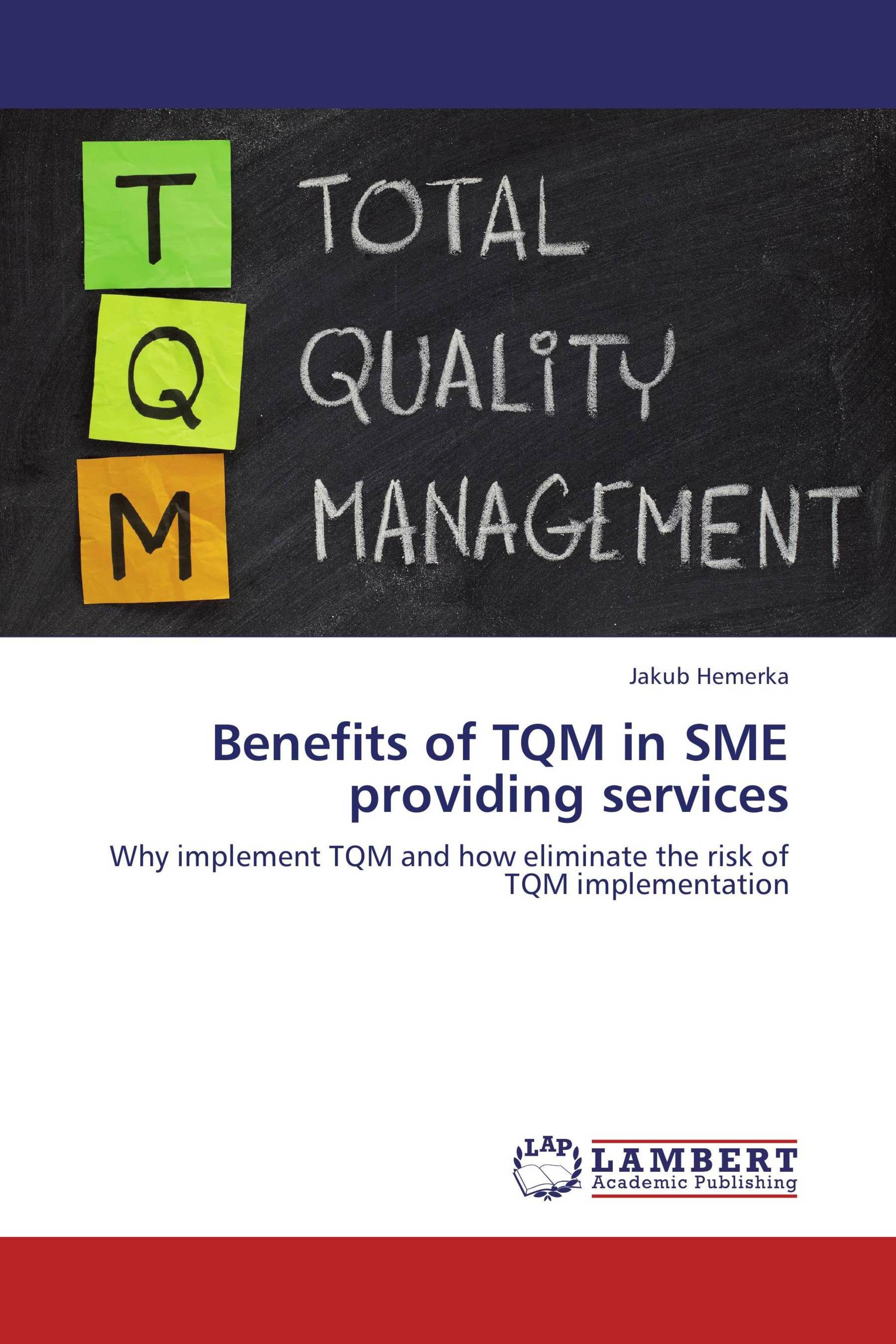 implementing tqm for an institution