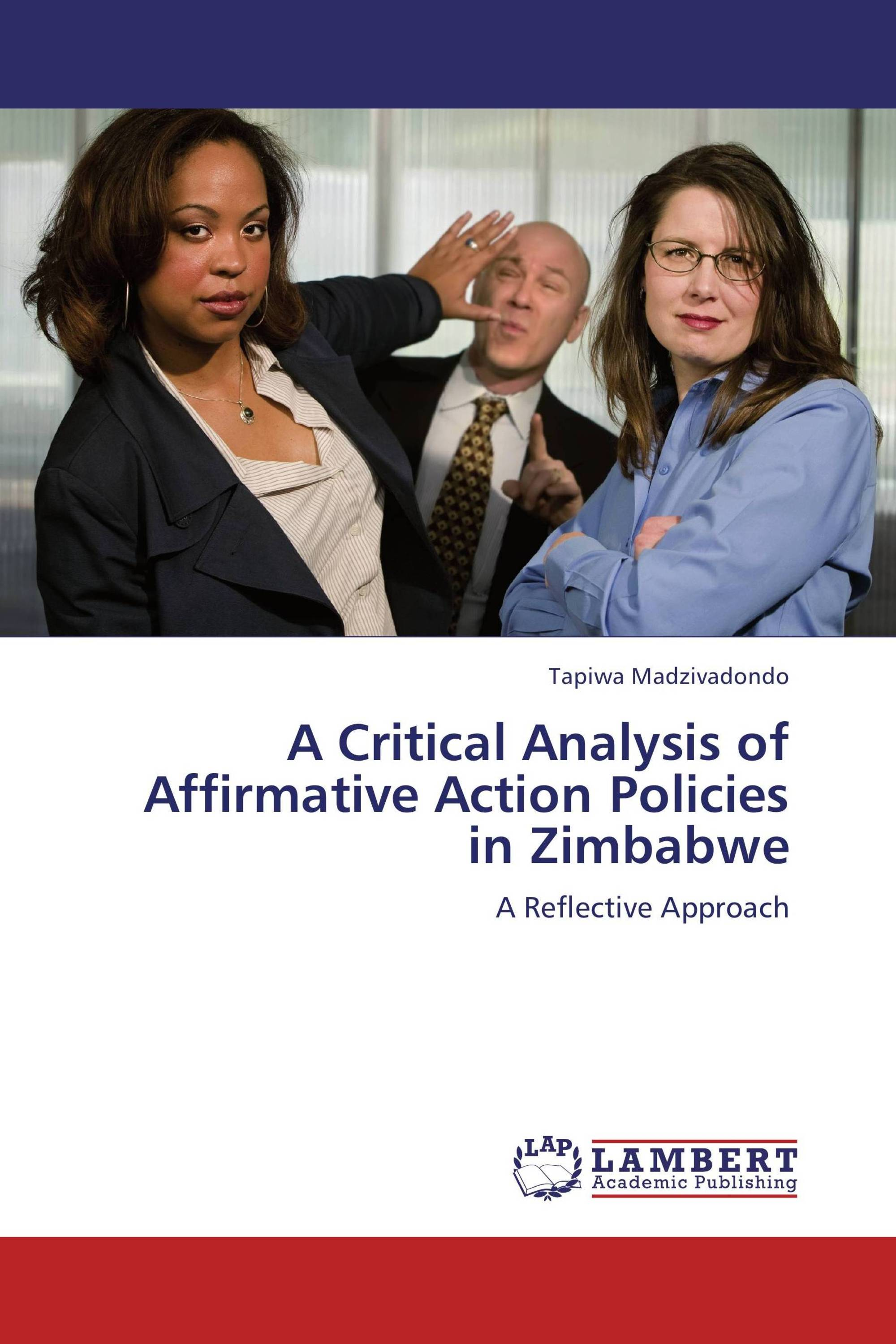 an analysis of affirmative action Affirmative action is one aspect of the federal government's efforts to ensure  of  an equal employment opportunity policy statement, an analysis of the current.
