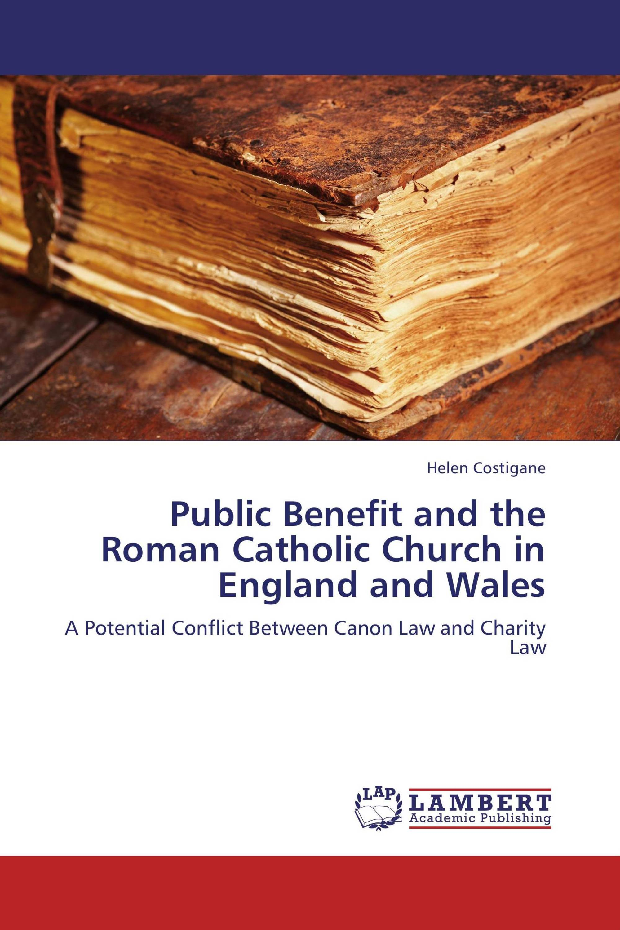 Public Benefit and the Roman Catholic Church in England and Wales
