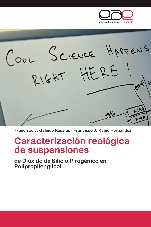 Caracterización reológica de suspensiones