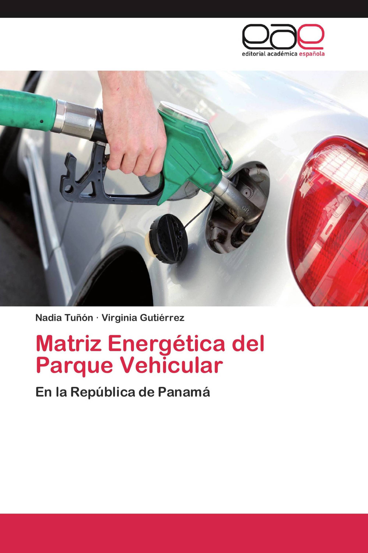 Matriz Energética del Parque Vehicular