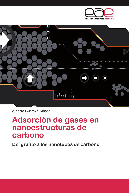 Adsorción de gases en nanoestructuras de carbono