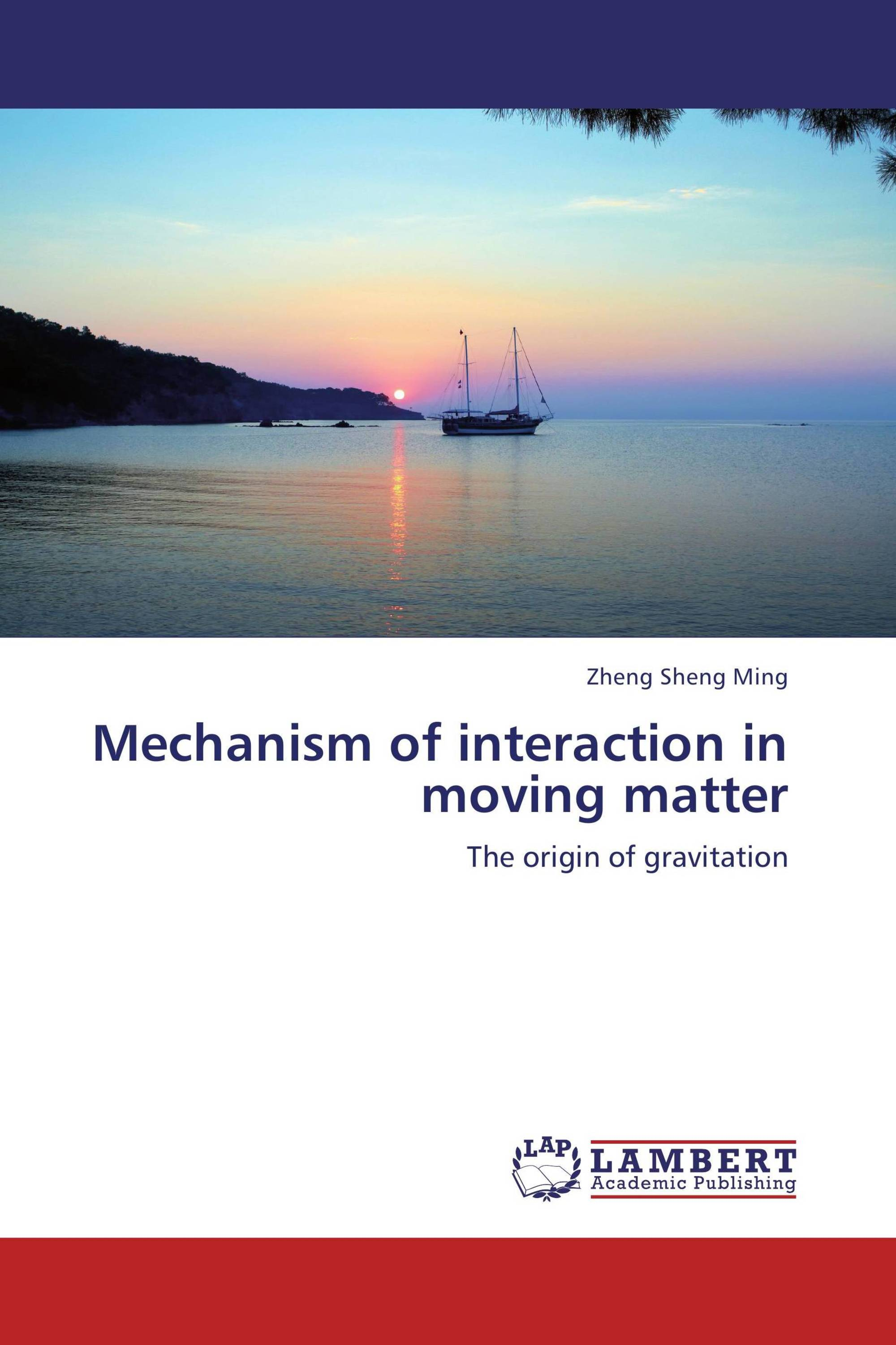 Mechanism of interaction in moving matter
