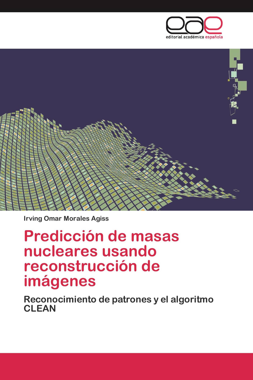 Predicción de masas nucleares usando reconstrucción de imágenes