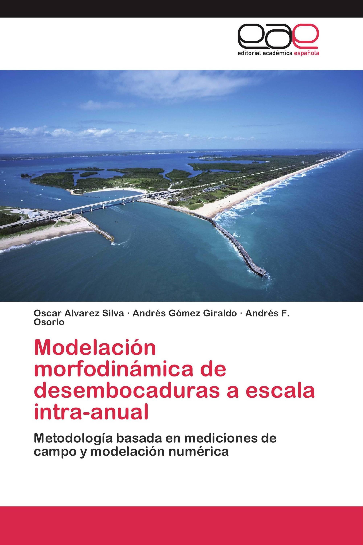 Modelación morfodinámica de desembocaduras a escala intra-anual