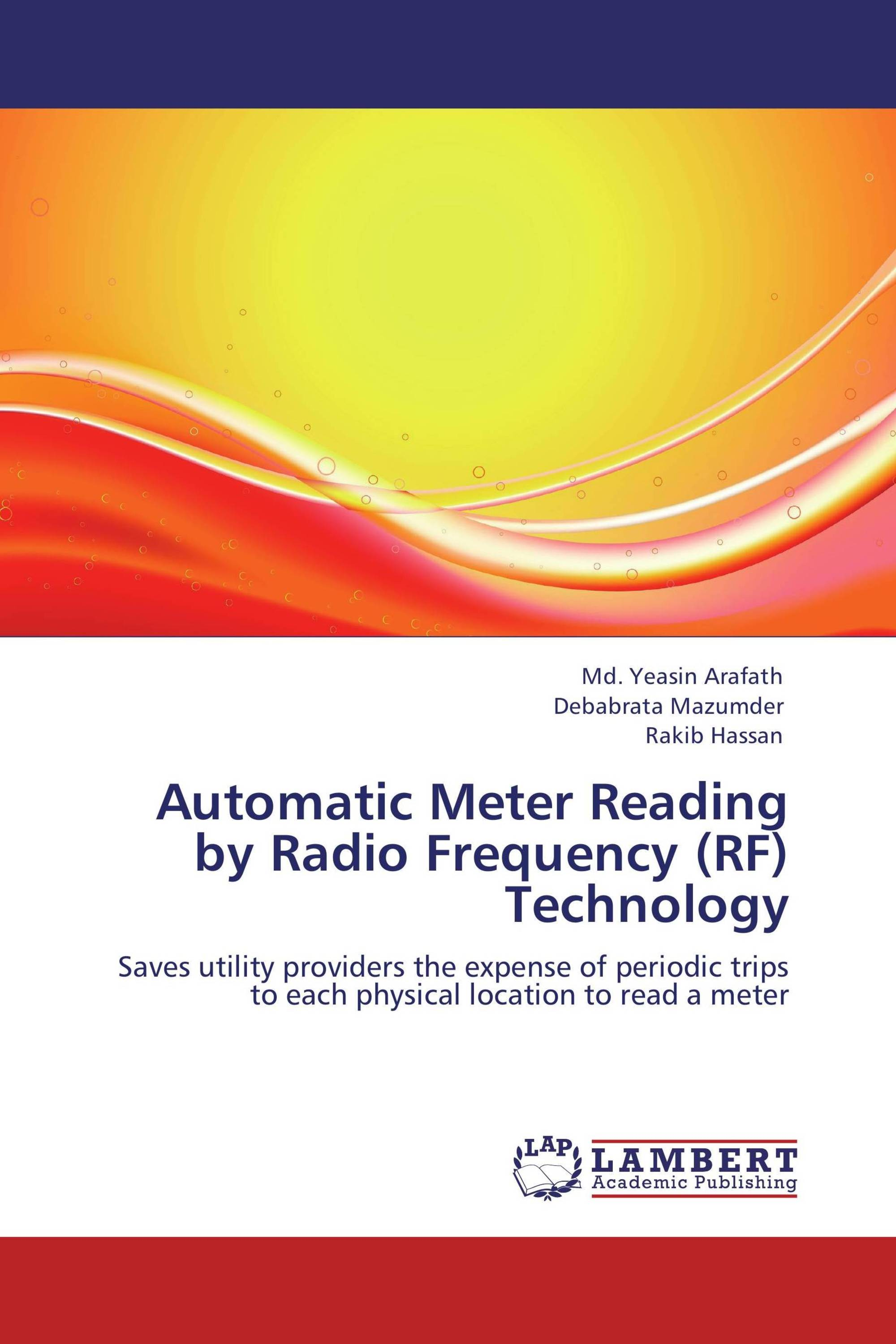 Automatic meter reading by using rf