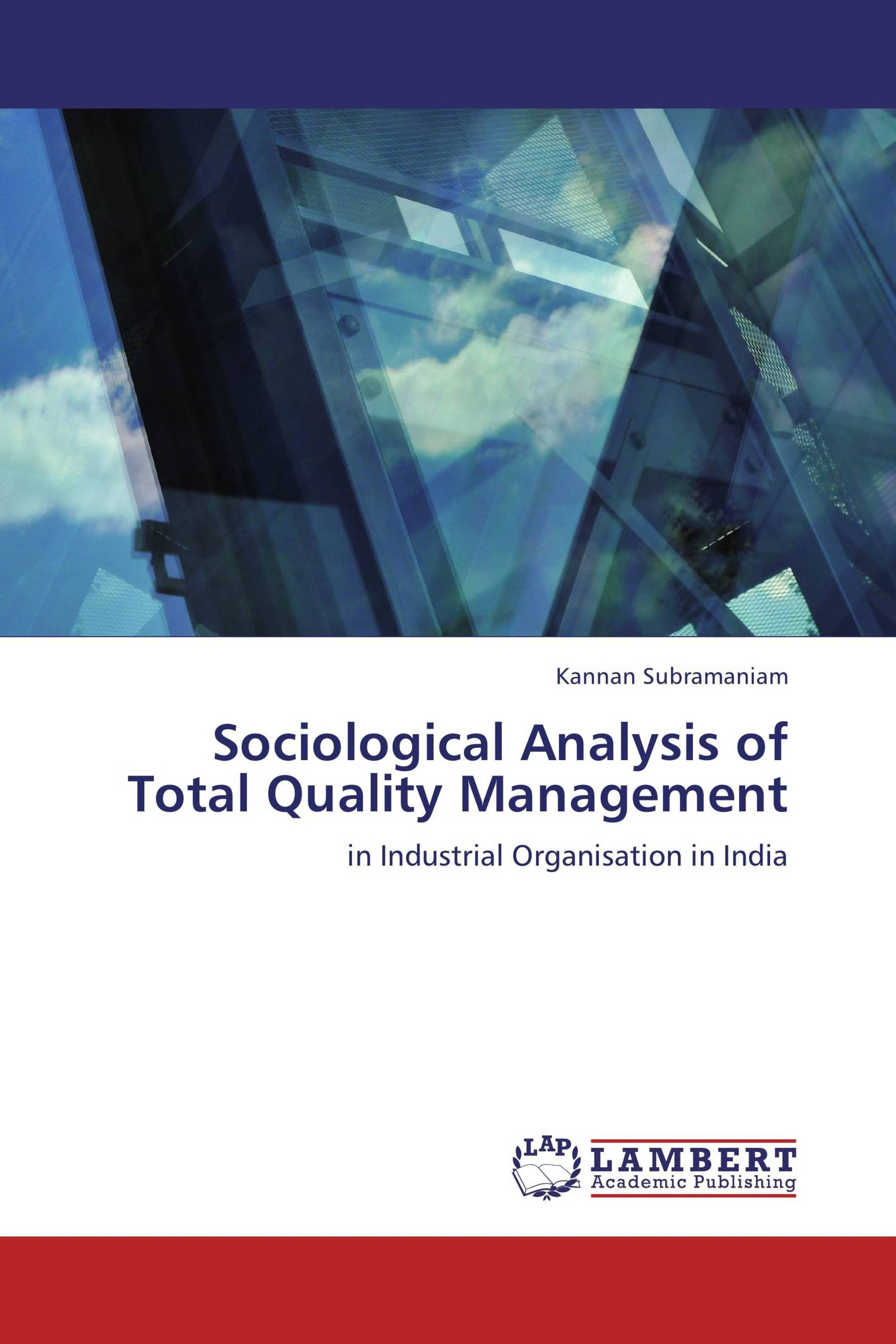 analysis of the role of total quality management tqm in the food industry